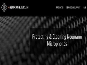 Protezione e pulizia dei microfoni...